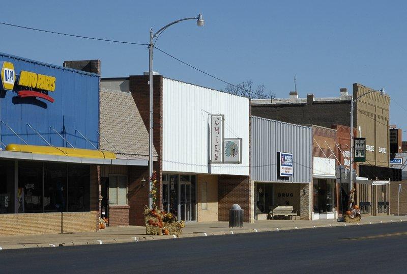 Kiowa KS Downtown