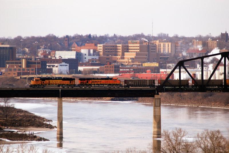 Southbound MO River  Bridge Souix City