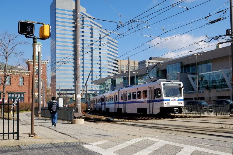 Baltimore MD Light Rail