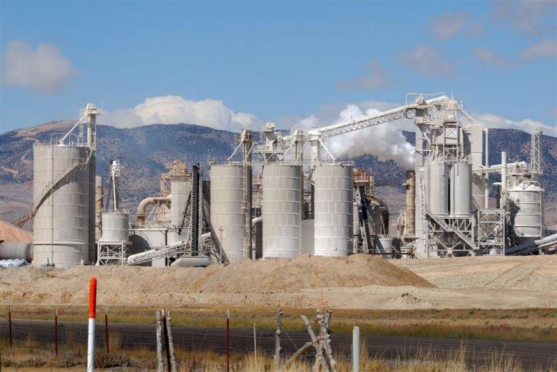 Chemical Plant near Black Rock UT
