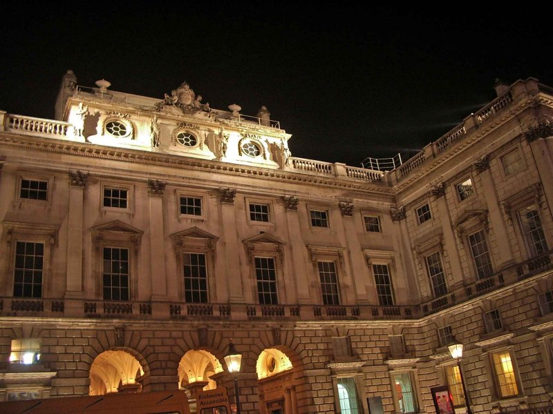 Somerset House in the Strand