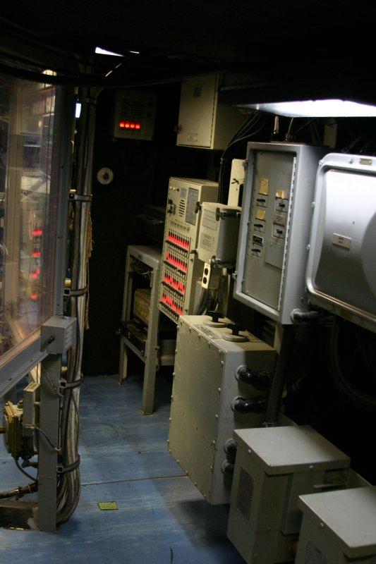 USS Missouri Situation Room