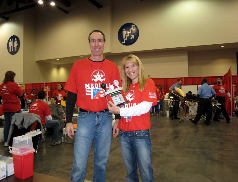 Jeff & Lisa with the WBGT