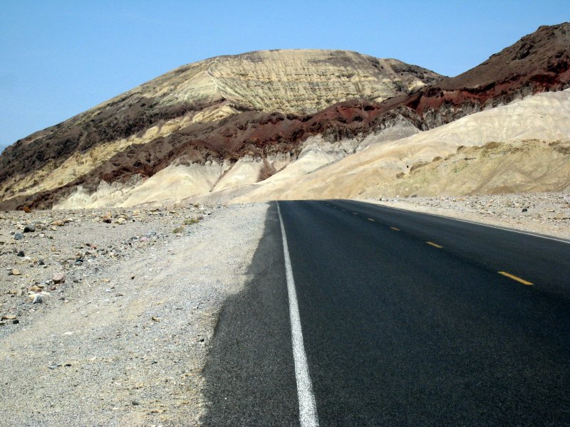 road from Badwater