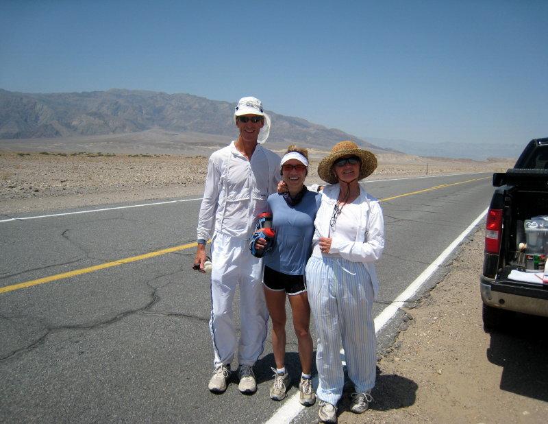 Danny Westergaard, me & his crew chief Nancy