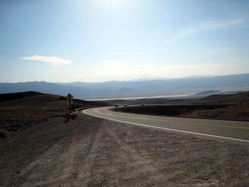 Descent into Panamint