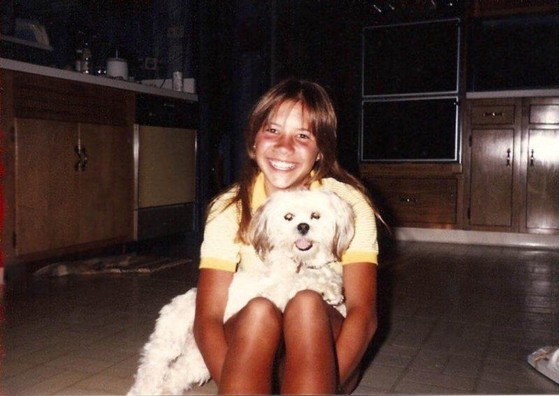 Kellers dog Samantha