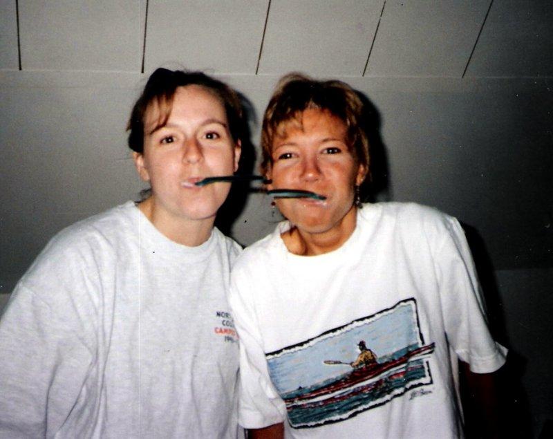 toothbrushing in Ashland, WI:  Magy & Lisa