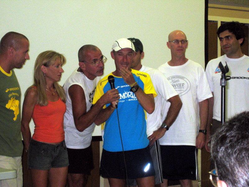Valmir & his crew. Valmir gets emotional.