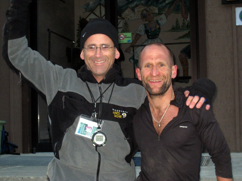 more Tims:  Tim Dehnhoff (search & rescue) congratulates Tim Englund