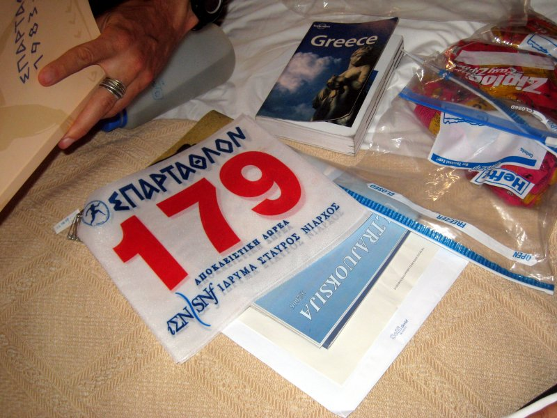 Back to Athens: the night before the race