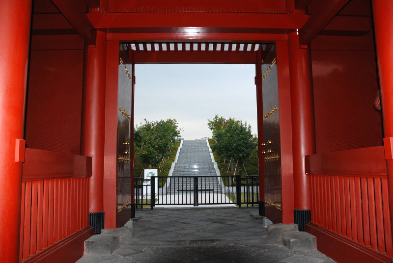 Temples Gate and Steps to Heaven