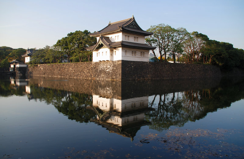 Guards Tower in the Imperial Palace