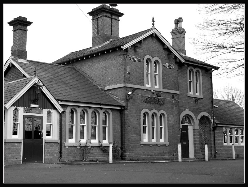Codsall Station - now a pub!