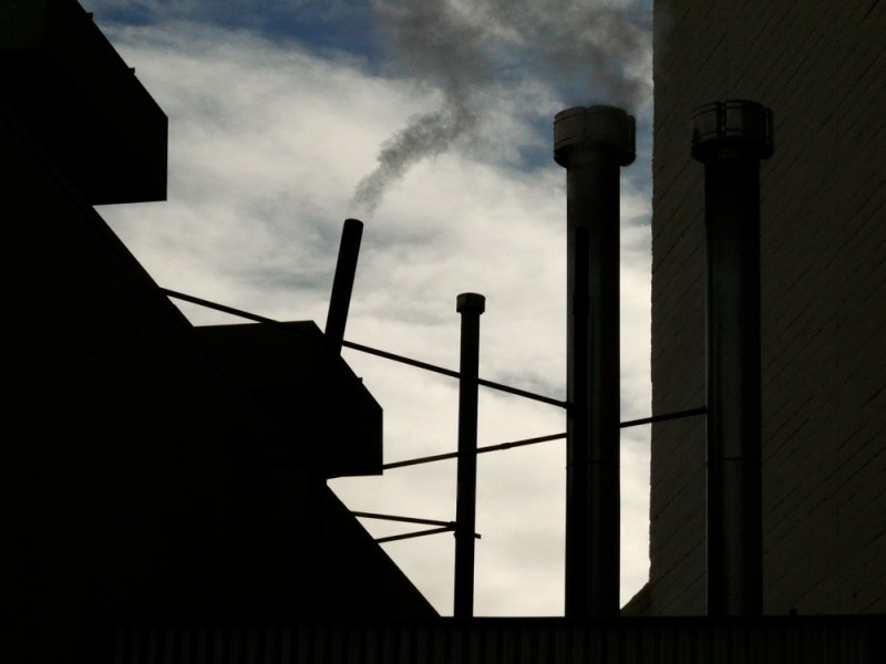 Smokestacks, Bakersfield, California, 2007