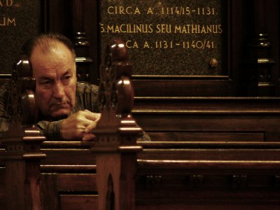 At Prayer, Cathedral of St. Stephen, Zagreb, Croatia, 2005