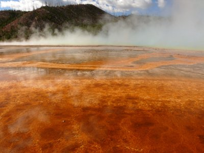 Grand Prismatic Spring, Yellowstone National Park, Wyoming, 2006