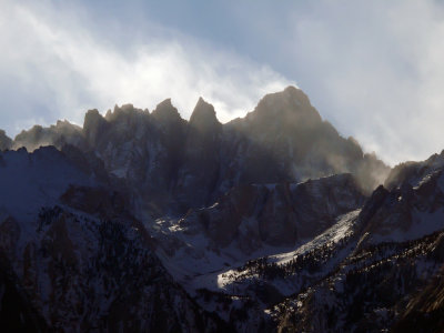 Summit of Mt. Whitney, from Lone Pine, California, 2007