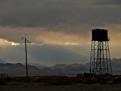 Abandoned borax plant, Death Valley Junction, California, 2007