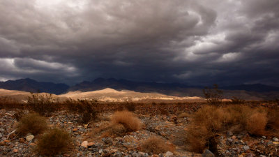 Squall over the Grapevine Mountains, Death Valley National Park, California, 2007