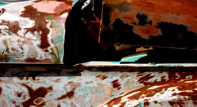 Bodywork, Darwin, Calfornia, 2007