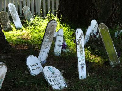 Pet Cemetery, The Presidio, San Francisco, California, 2007