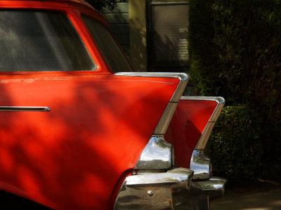 Red Chevrolet, Petaluma, California, 2007