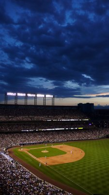 Fourth of July at Coors Field, Denver, Colorado, 2007