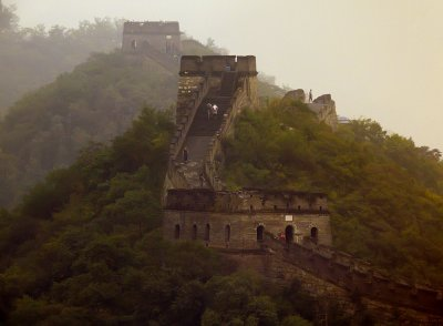 Experiencing The Great Wall, Mutianyu, China