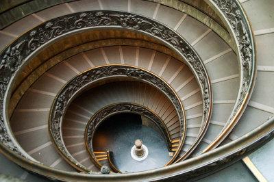 Double Helix Stairway