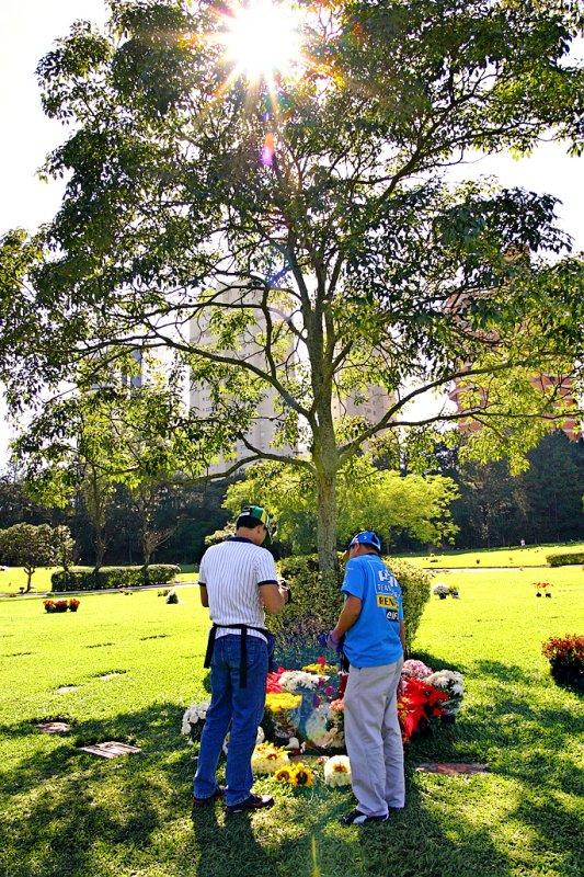 Ayrton Sennas final resting place