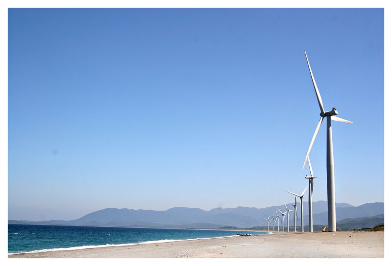 The windmills of your mind, Pagudpud, Philippines