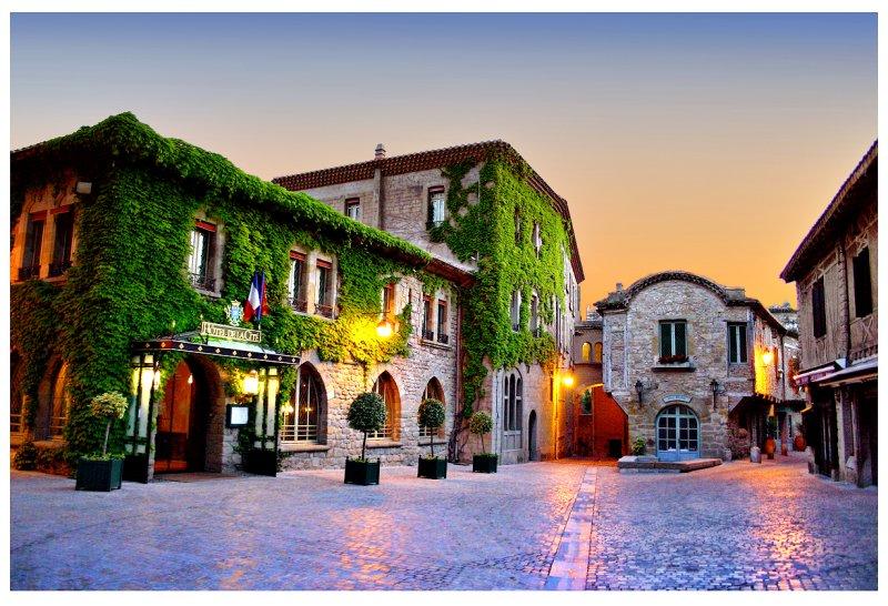 Sunrise @ Carcassone, France