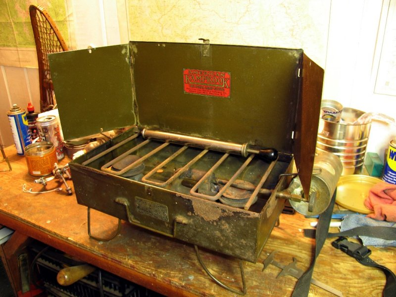 1923 No 3 American Gas Machine Kampkook Campstove