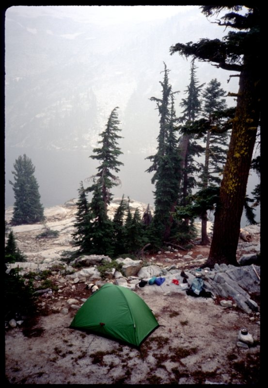 Grizzly lake camp and Bibler