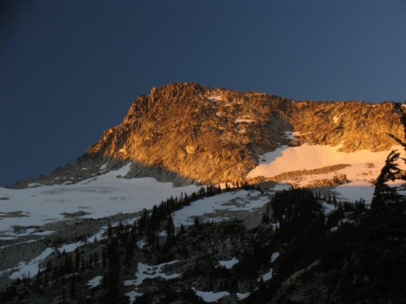 Thompson Peak at sunrise