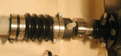 PSS Shaft Seal - With Painted Coupling