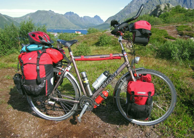 121  Frank - Touring Norway - Giant Expedition Travel touring bike