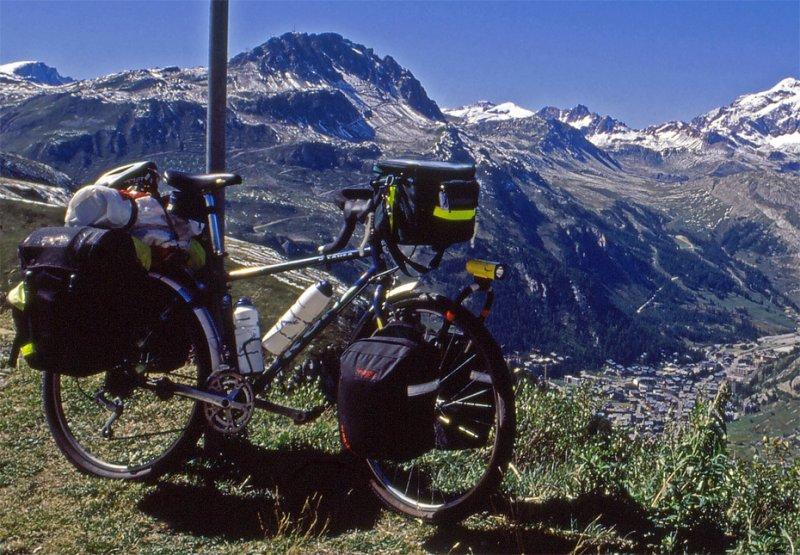 123  Dave - Touring France - Kona Kilauea touring bike
