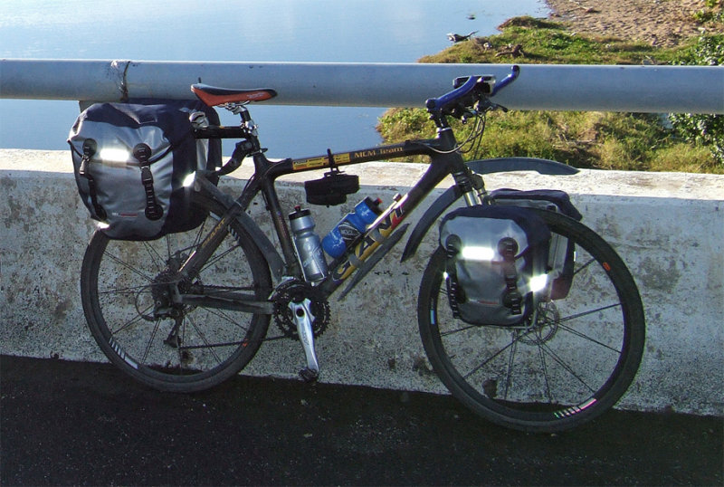 133  Eugene - Touring Taiwan - Giant MCM Team touring bike