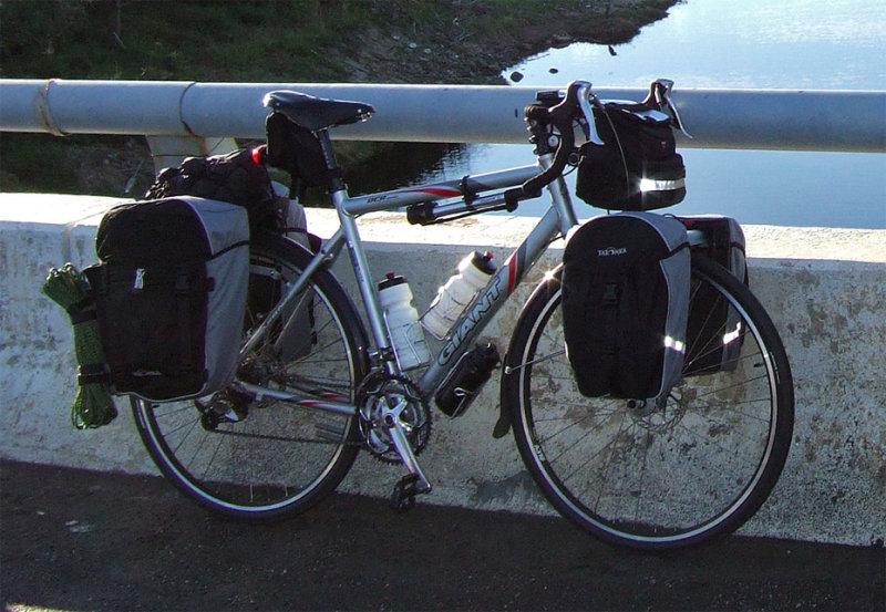 134  Rod - Touring Taiwan - Giant OCR Touring touring bike