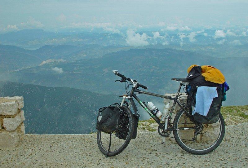 135  Eugene - Touring France - Shogun Prairie Breaker touring bike