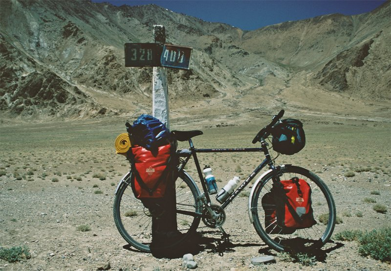 137  Tim - Touring Tajikistan - Dawes World Tour touring bike