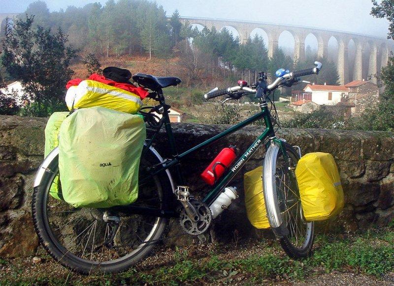 145  Friedel - Touring through France - Robin Mather Touring touring bike