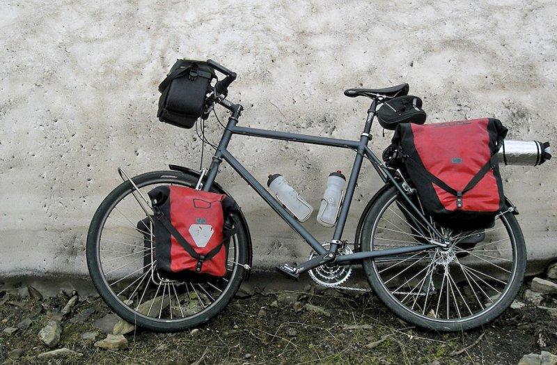 149  Bert - Touring France - Santos Travel Master touring bike