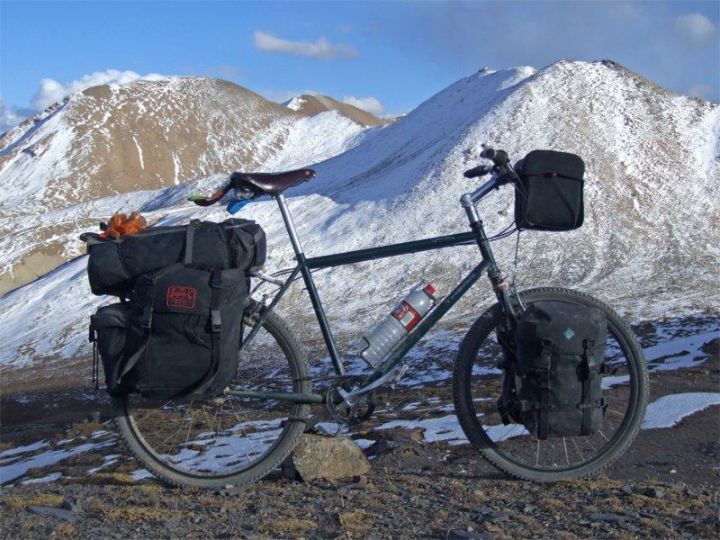 151  Stephen - Touring though Tibet - Thorn Raven touring bike
