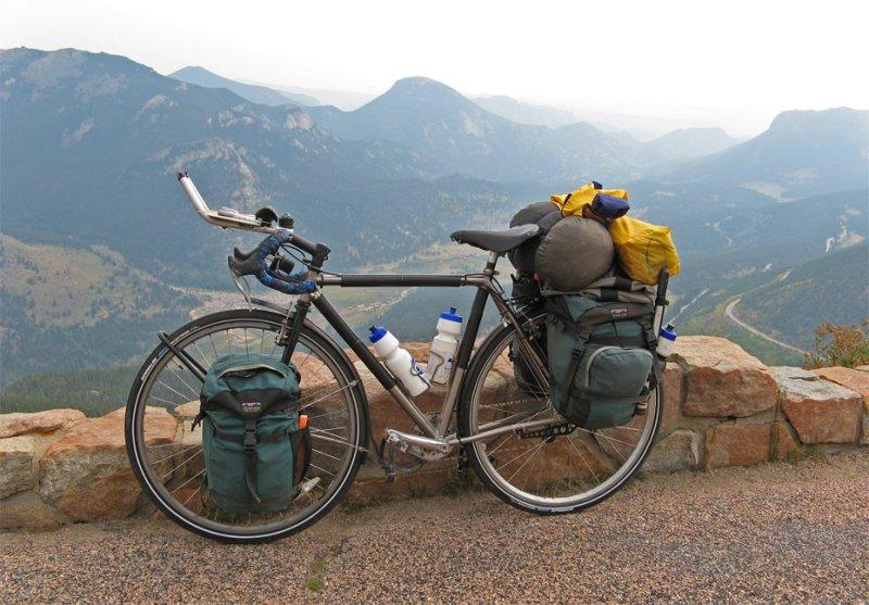 155  Denis - Touring Colorado - Litespeed Blue Ridge touring bike
