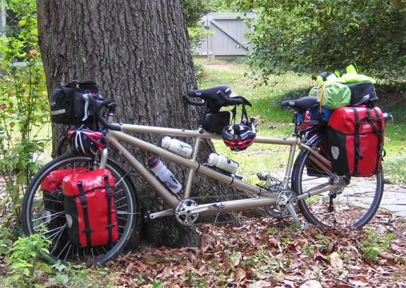 177  Gary & Carol - Touring Through Florida - Cannondale RT1000 touring bike