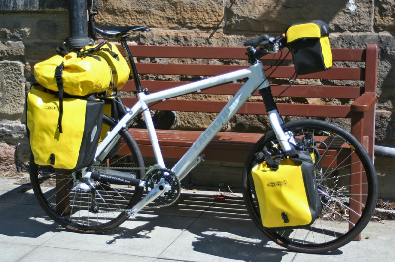 179  Callum - Touring the UK - Cannondale Furio X5 touring bike