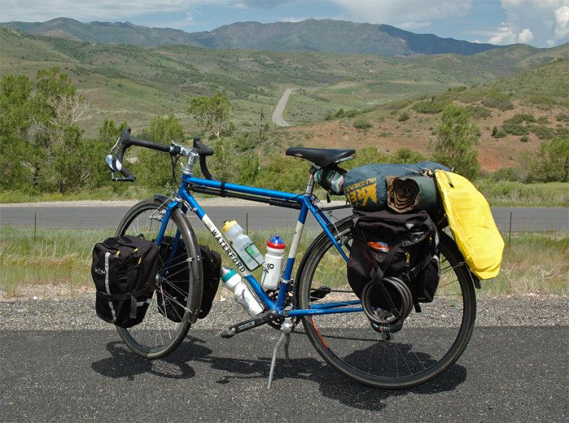 184  Lou - Touring Utah - Waterford 1900 touring bike